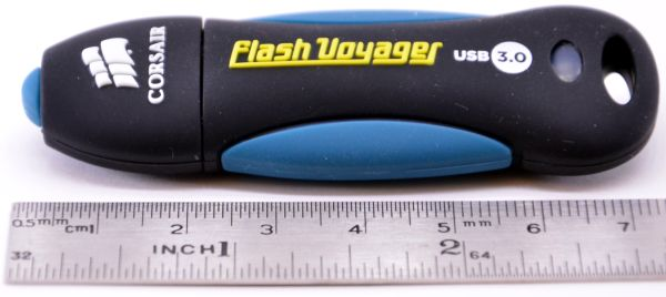 Corsair Flash Voyager USB 30 16GB Length Ruler
