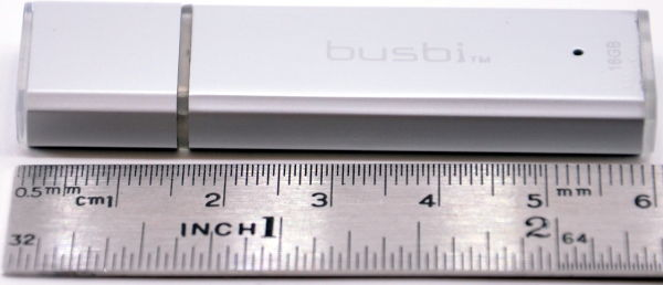Busbi Bolt USB 30 16GB Length Ruler