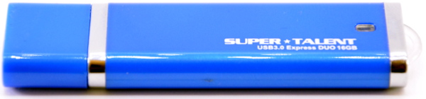 Super Talent Express DUO USB 30 16GB Front