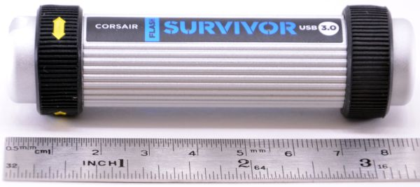 Corsair Flash Survivor USB 30 16GB Length Ruler